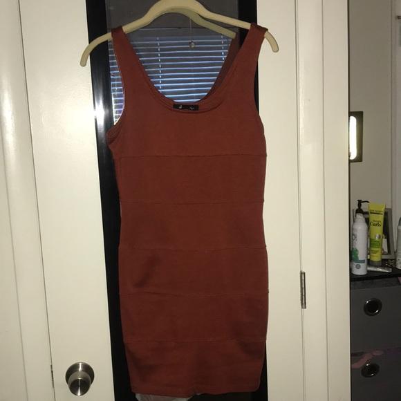 Forever 21 Dresses & Skirts - Forever 21 Rust Color Bodycon dress